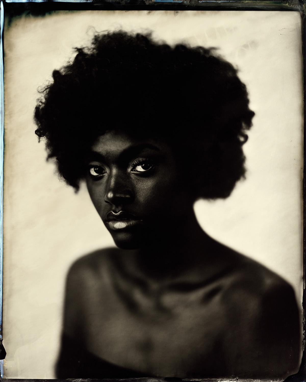 Naomi on White - By: Ed Gately ewgately.com