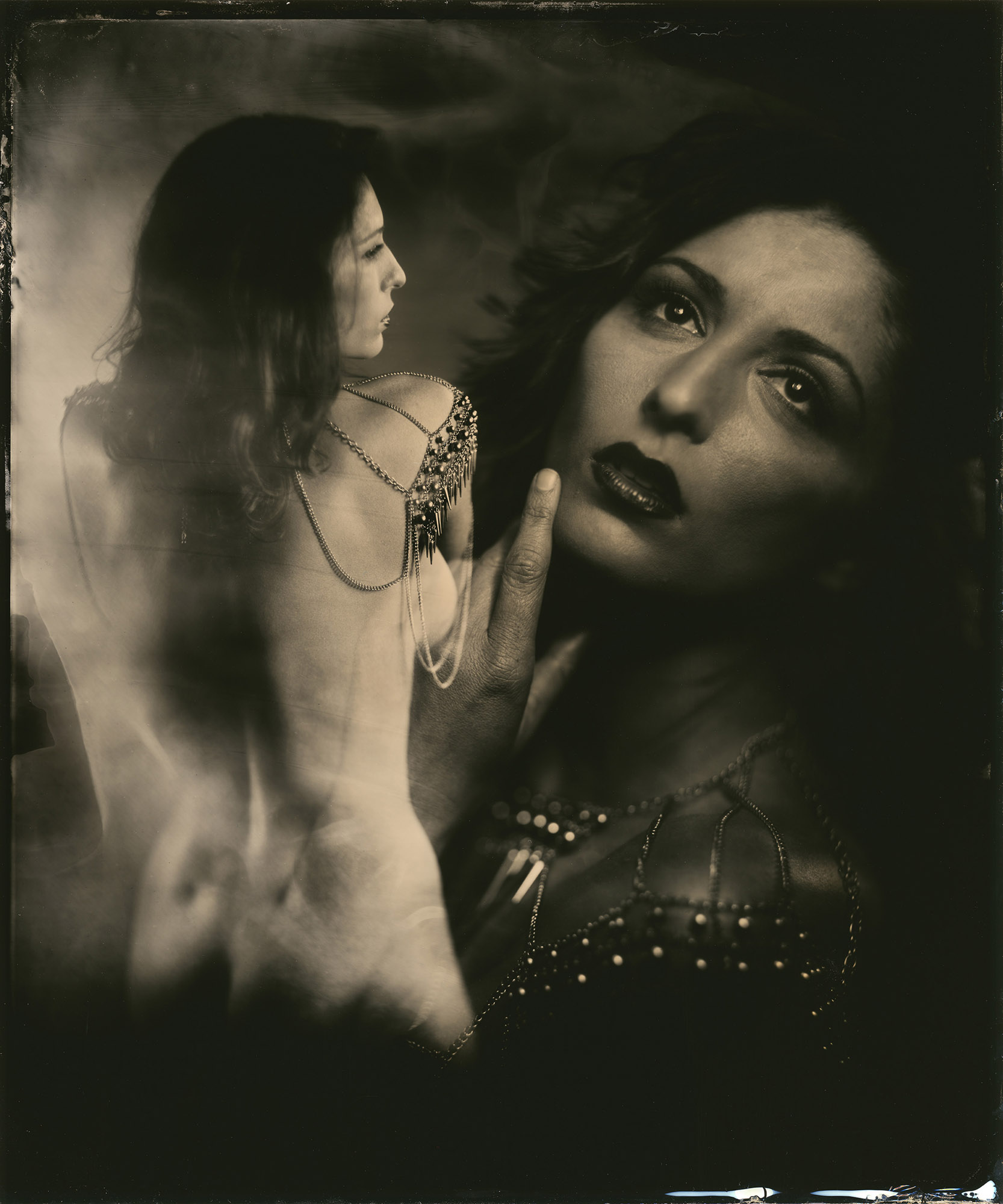 Carlotta - By:Scott Basile  www.blackarttintype.com