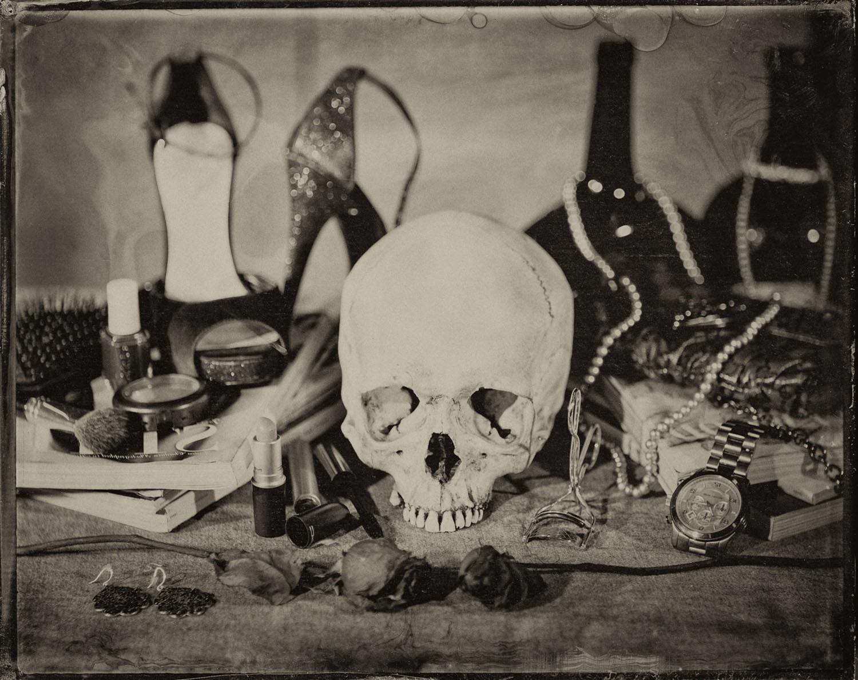 Untitled, Memento Mori Series (Vanitas Fair) - By:Joseph Gamble  www.josephgamble.com