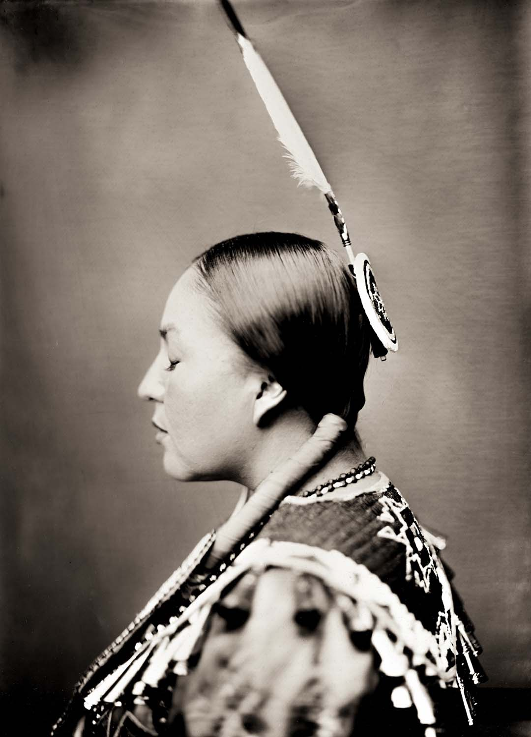 Sacred Flying Eagle Woman By: Shane Balkowitsch  http://sharoncol.balkowitsch.com/wetplate.htm