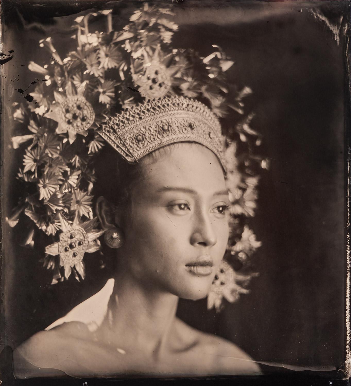 Title : Putu Bulan in crown  By:  Stephan Kotas  www.stephankotas.com