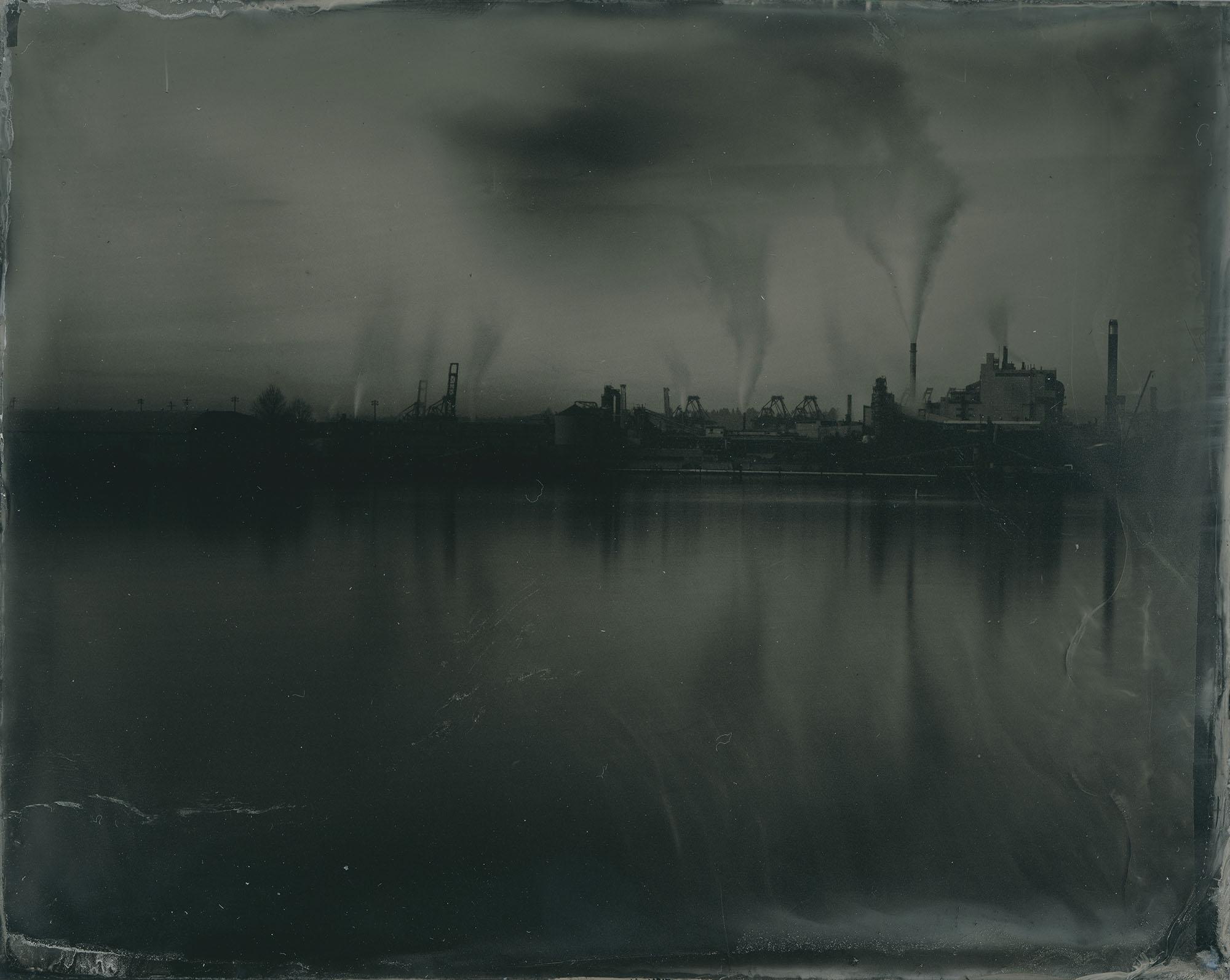 Title : Foss waterway industry By: Jason Biehner   www.sabertashphoto.com