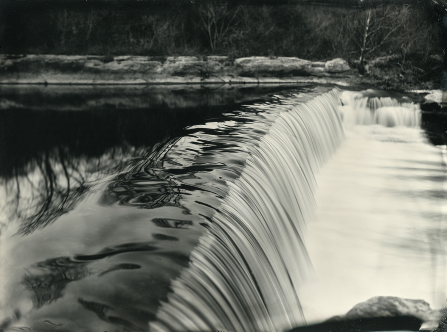 Title : Brushy Creek Dam By:  Thomas Cavness    www.thomascavness.com