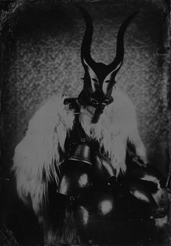 Title : Su Boe, maschera sarda  By:  alessandro parente