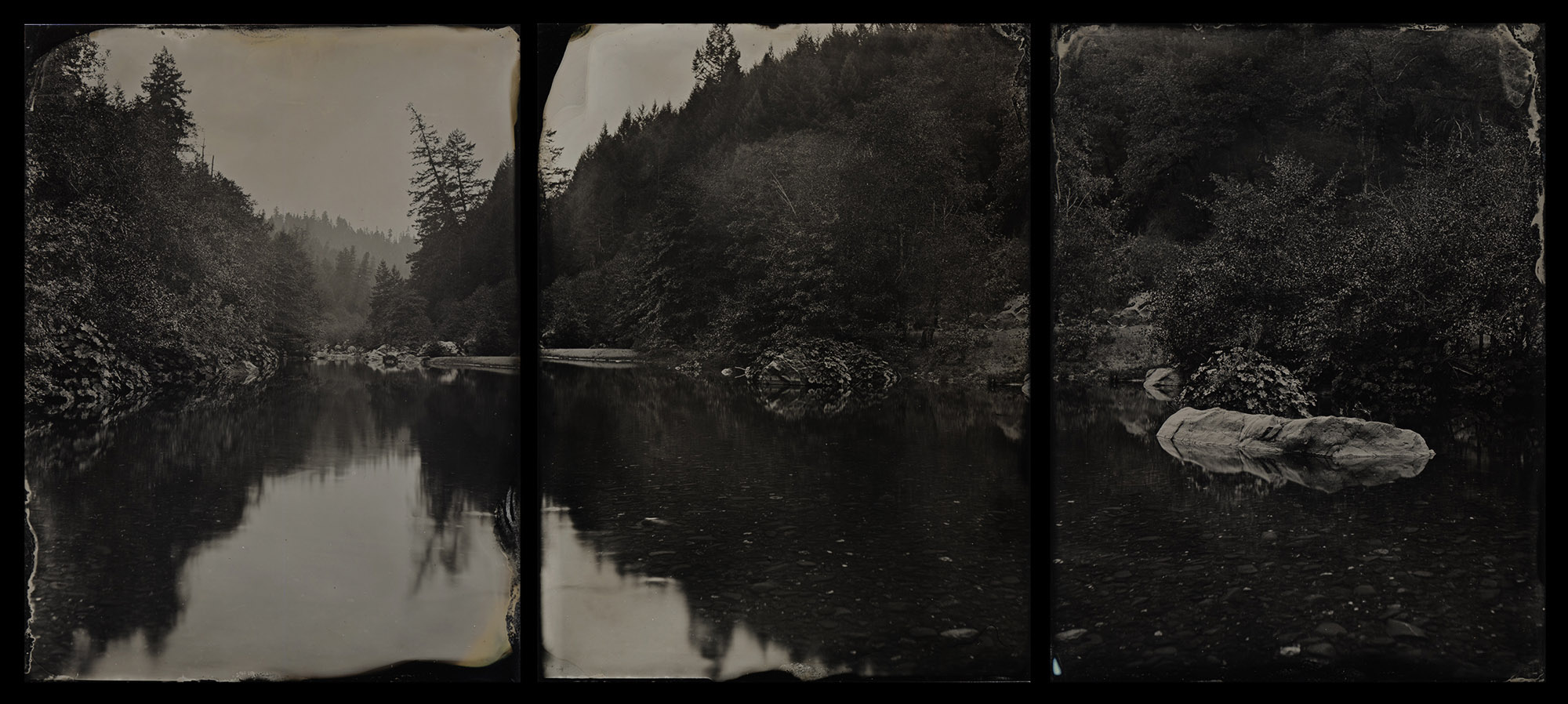 Title : Mad River Triptych By: Ivan Sohrakoff    isophotographic.com