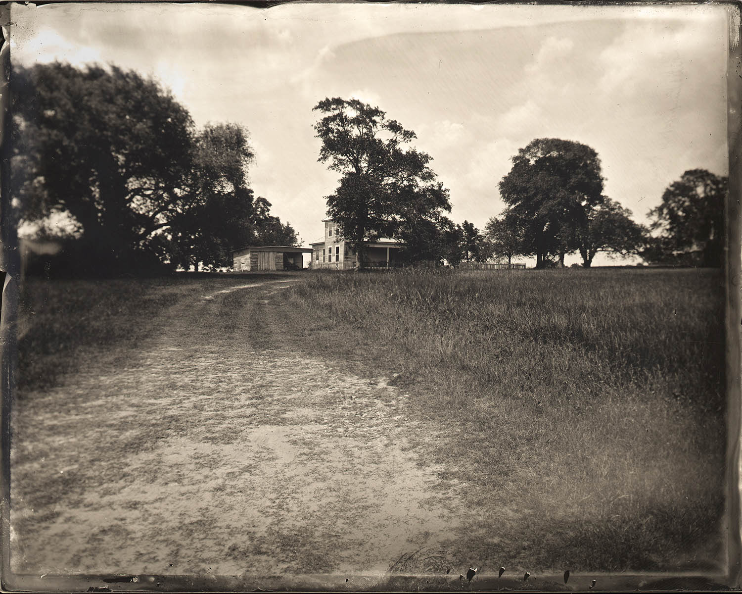 Title : Navasota Farmhouse  By:  Japheth Storlie  www.gravurelumiere.com