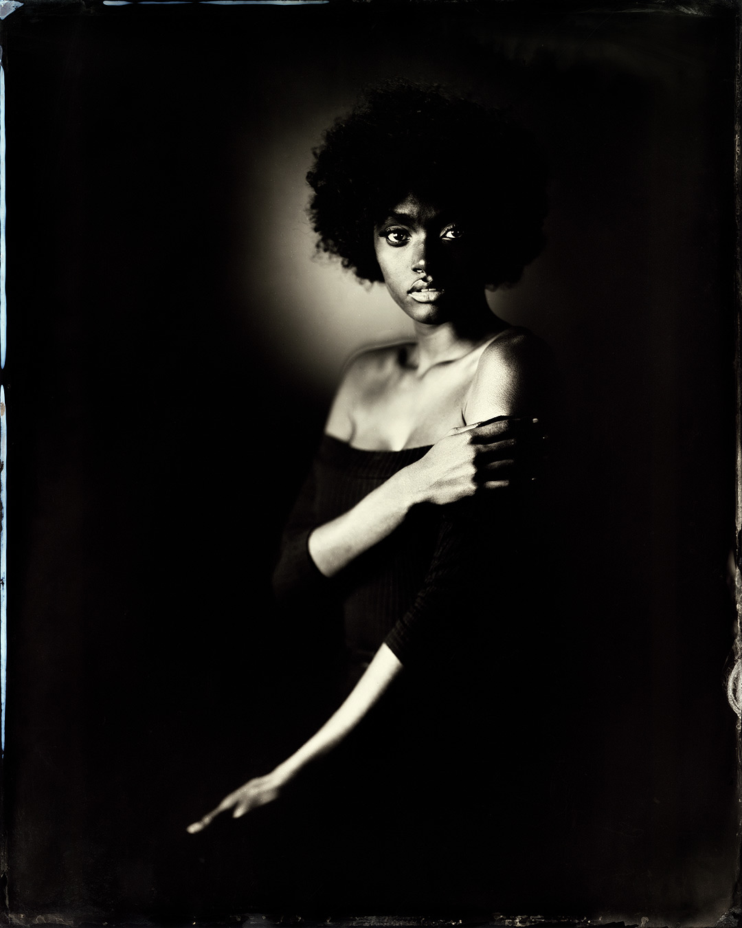 Naomi on Black - By: Ed Gately