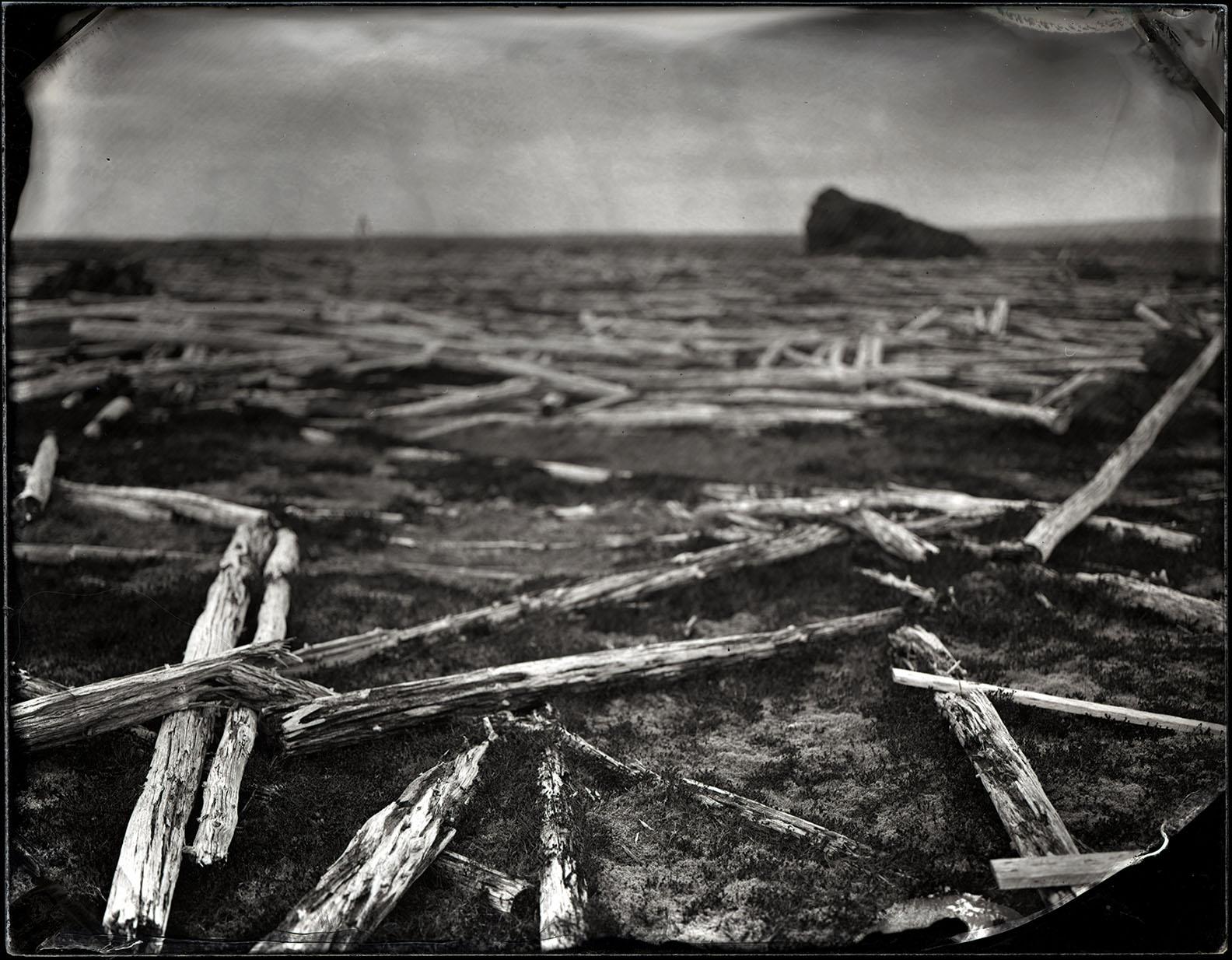 Wood, near Grindavík - By: Karen Stentaford
