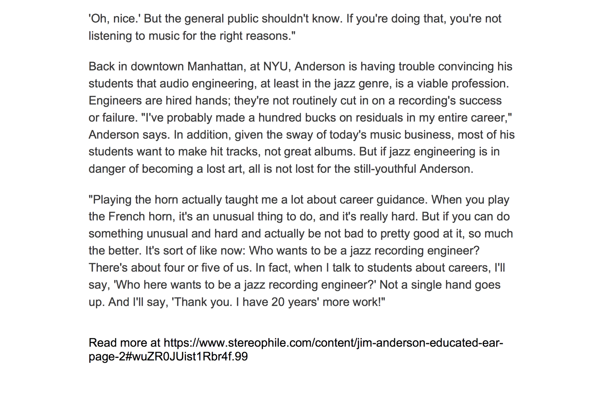 Stereophile Magazine INTERVIEWS11.png
