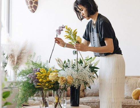 bed bath and beyond: one more thing  - the brooklynite moonlighting as a florist and ceramist