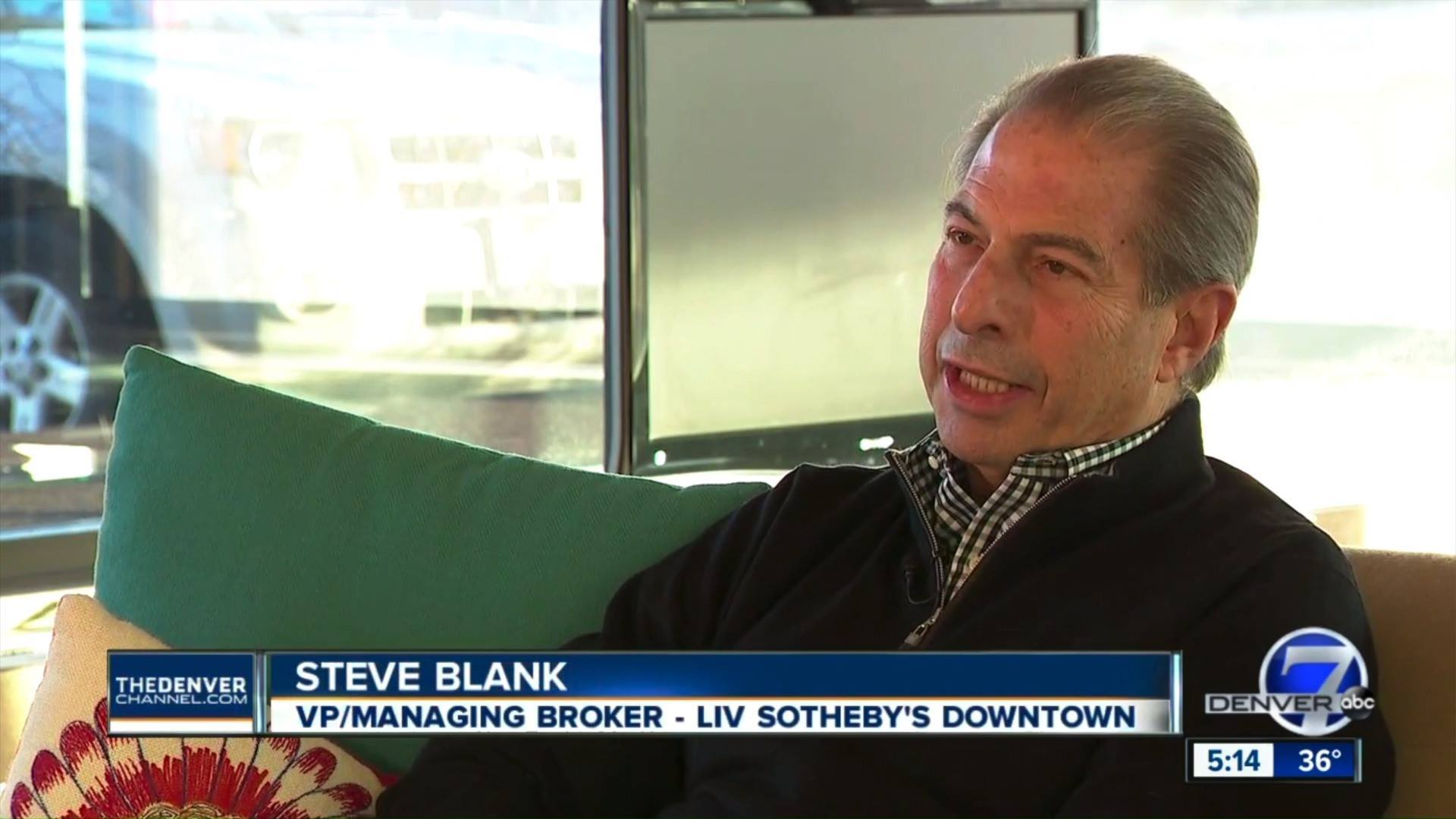 Steve Blank interviewed by Denver 7 - Listen now to Steve Blank, Vice President and Downtown Managing Broker, as he discusses Zillow entering the home flipping business and why buyers and sellers should get a second opinion.Watch the interview here