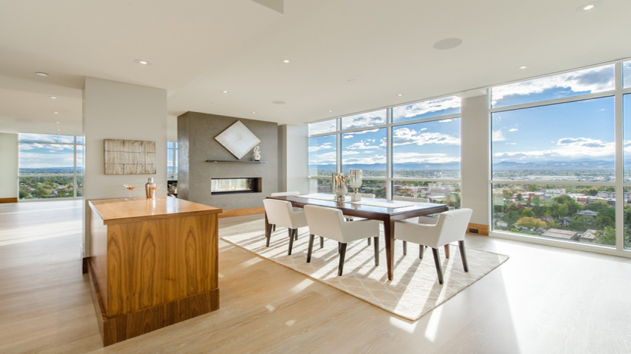 Extreme Homes of Colorado: $4M Penthouse Offers Spectacular Views - Jared Blank explains how a modern facelift revived this decked out penthouse in Downtown DenverRead the Full Article Here