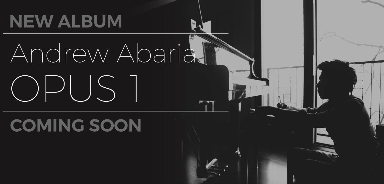 New Album coming soon - Opus 1