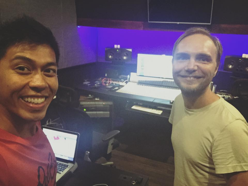 Last week in the studio doing production for my EP with my insanely talented producer Jonas Petersen. I am glad this album is almost finished but I will miss working with him!!