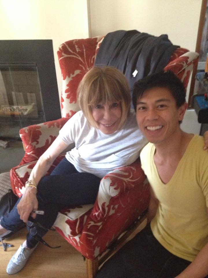 Got to meet legendary songwriter Cynthia Weil today. I introduced myself at the beginning of the day and hours later when we took this pic, she remembered my name! #blushing #geekingout
