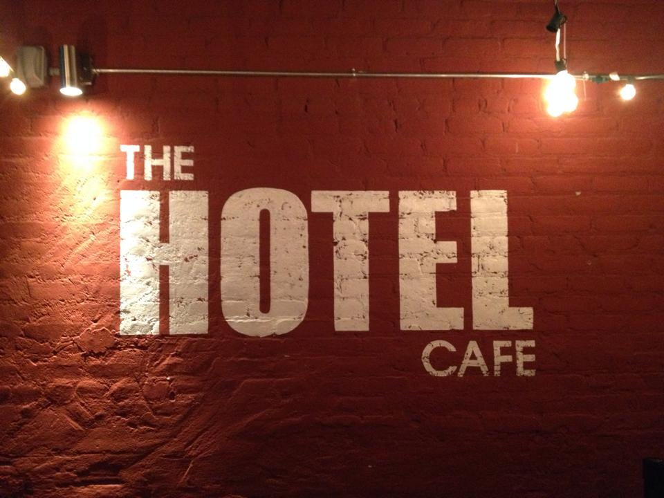 I'm back in LA and performing tonight at 8pm at the legendary Hotel Cafe!