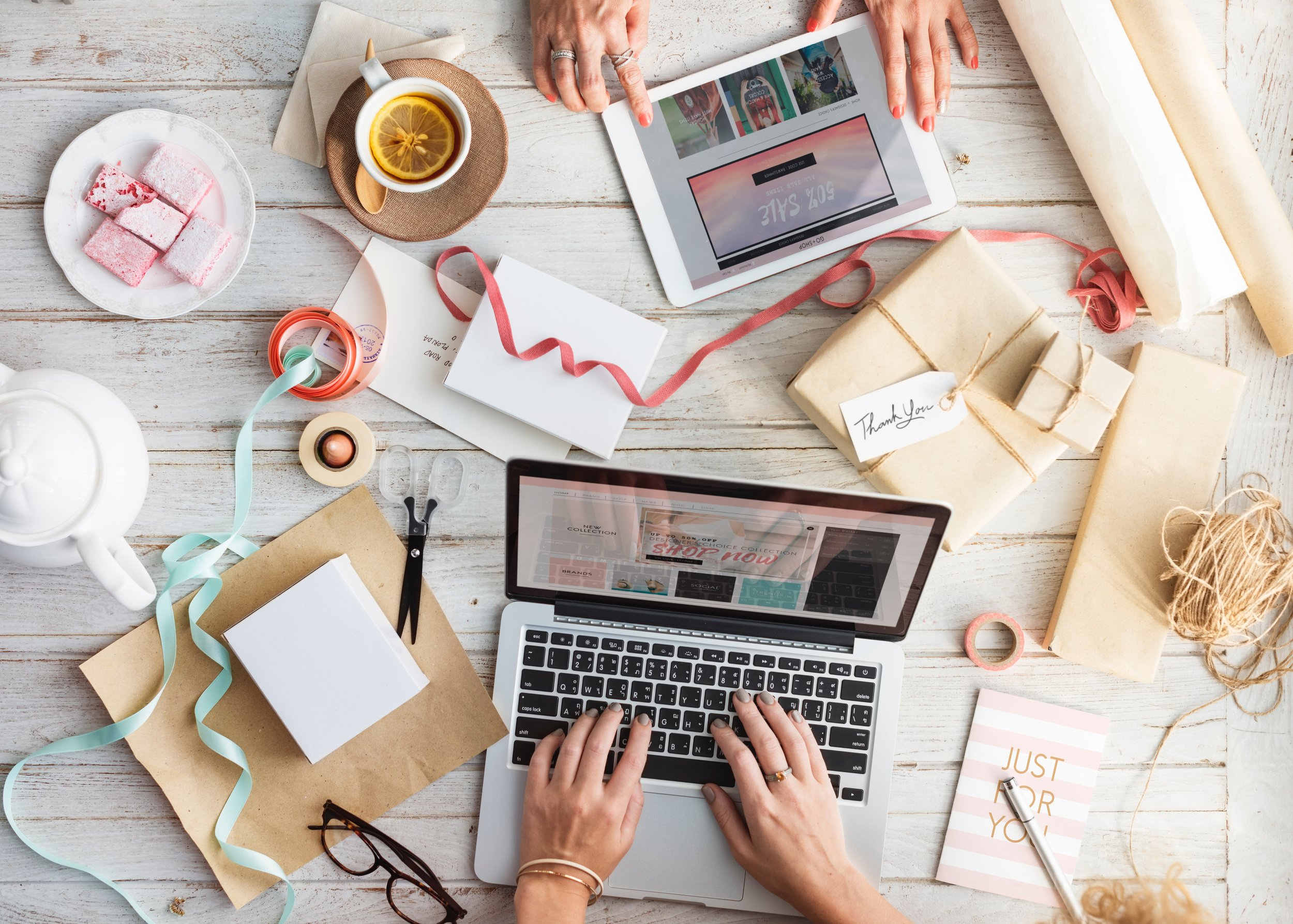 Blog Development - Picture blogging as single pieces of thread woven together to create beautiful tapestry. Each article represents a thread. They must work together to establish your business as a thought-leader in your niche. A strong content writer will carefully plan blog posts that paint a beautiful picture for your business.Photo by rawpixel.comon Unsplash