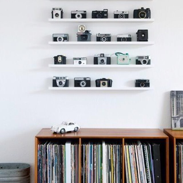 The difference between a stylish collection and hoarding? Presentation.