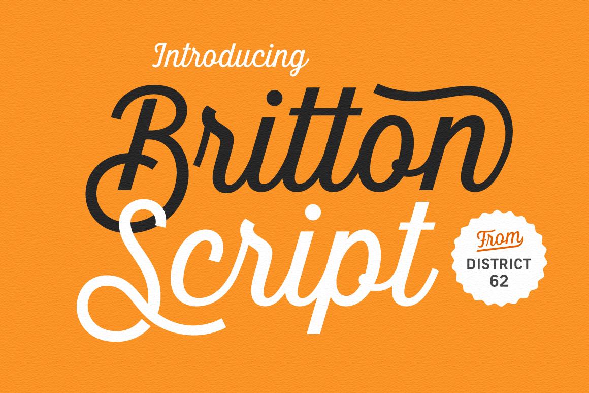 Britton Script