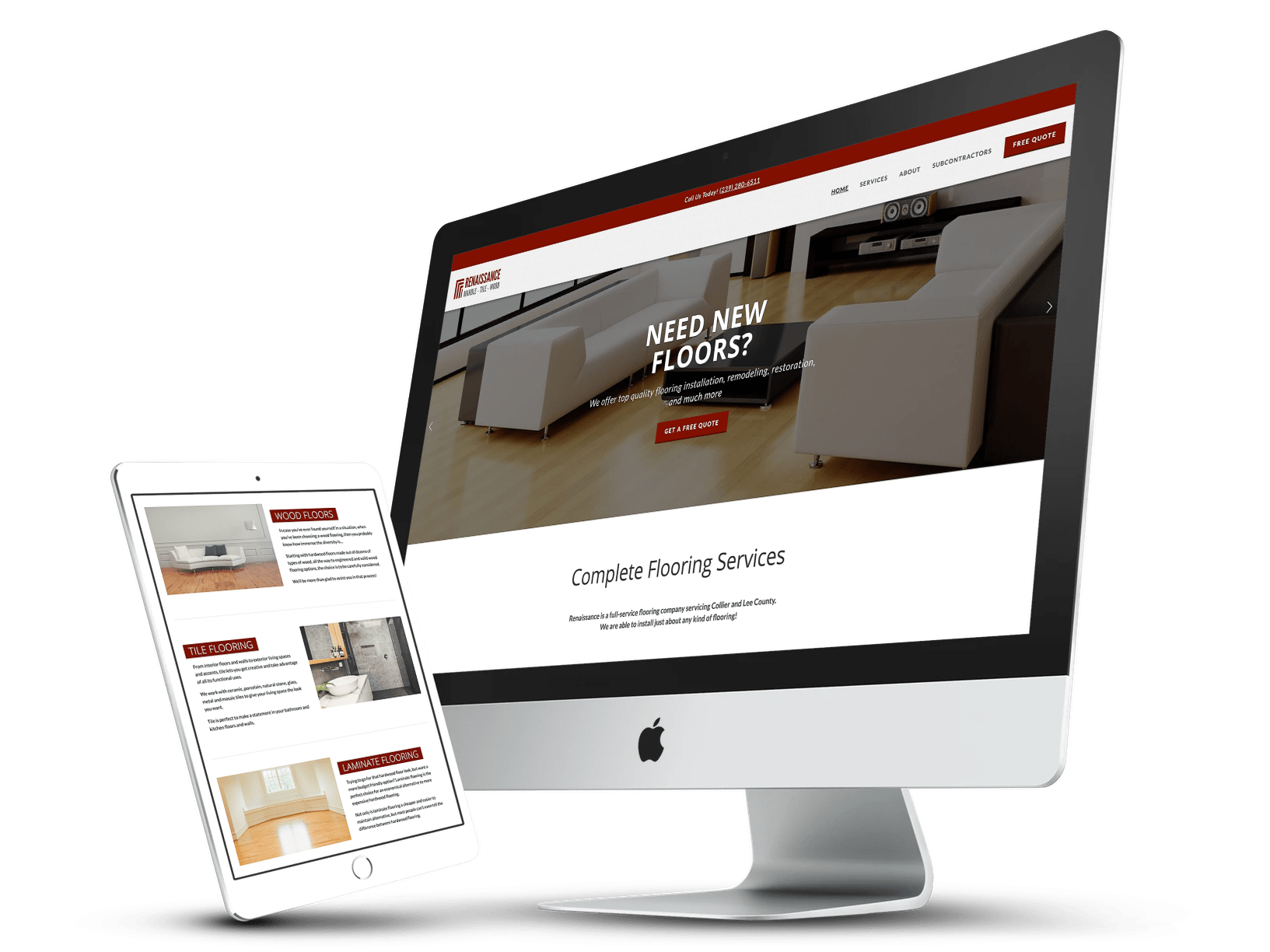 Responsive Web Design, Naples, Florida