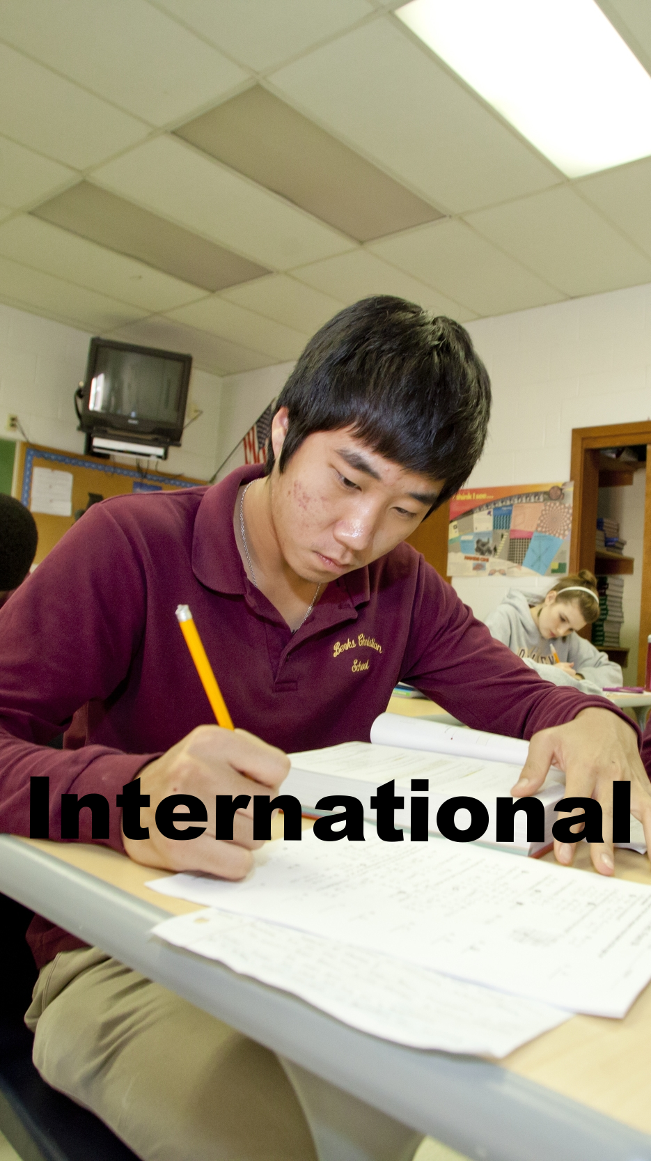 Click to learn about our international student program