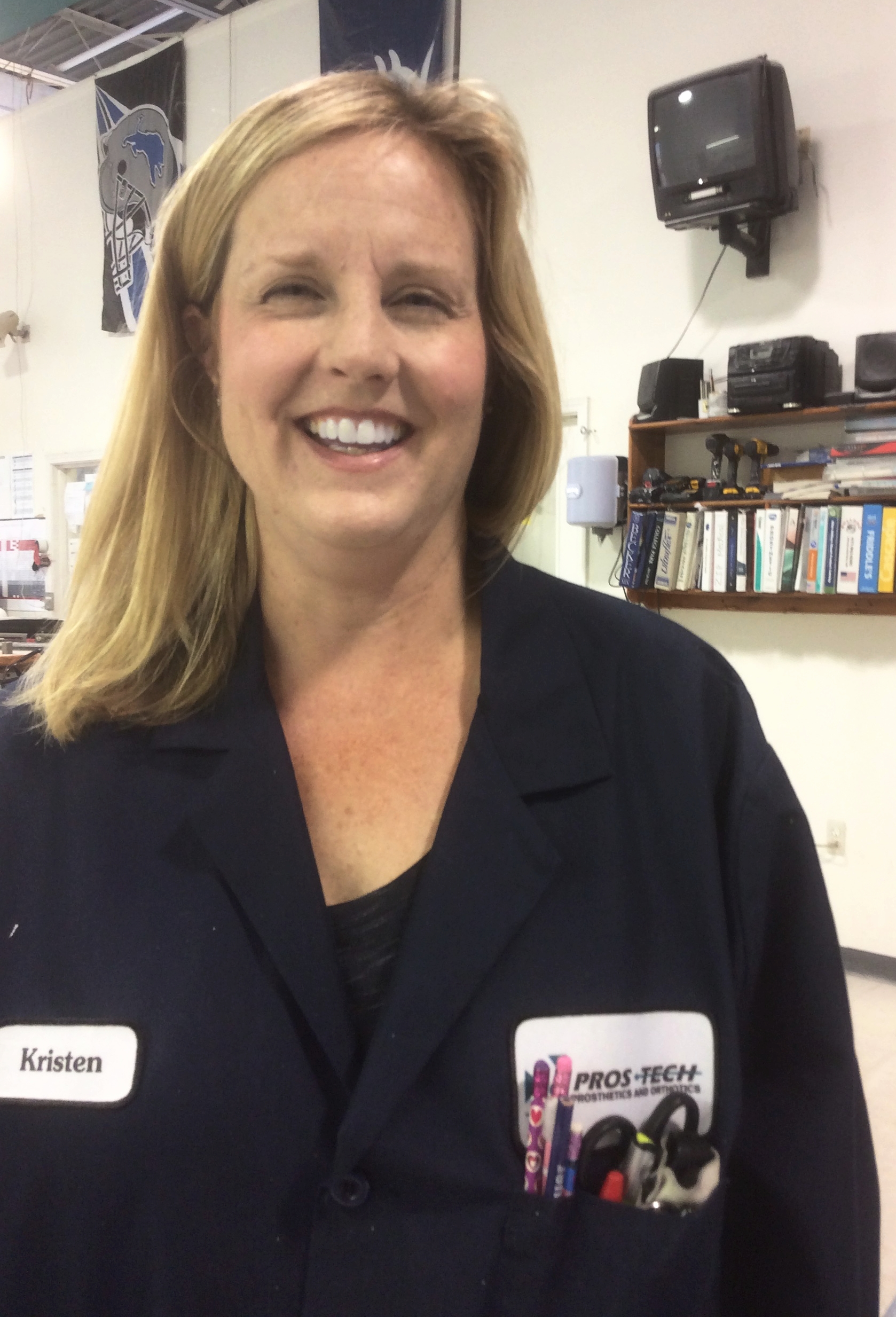 Kristen Border  C.O  Bachelors of Science and Human Biology from Michigan State University  25 Years in Prosthetics and Orthotics.  Specialty: Pediatrics  Interests: Human Society International  Hobbies: Gardening and Crafts.