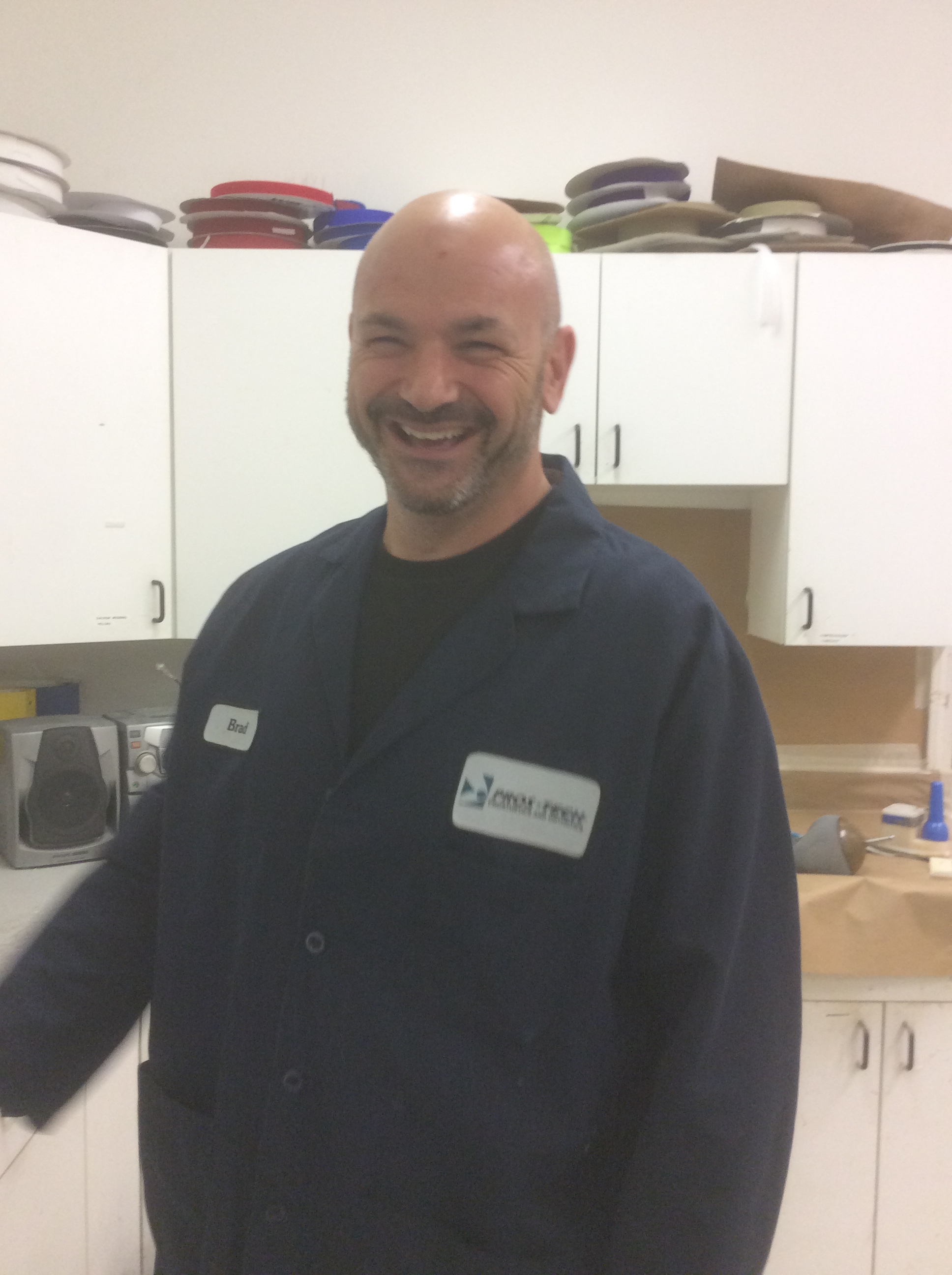 Brad Mann  C.P.A and C.P.T  23 years in Prosthetics and Orthotics  Interests: golfing and prosthetics  Hobbies: barbecueing, spending time with his family