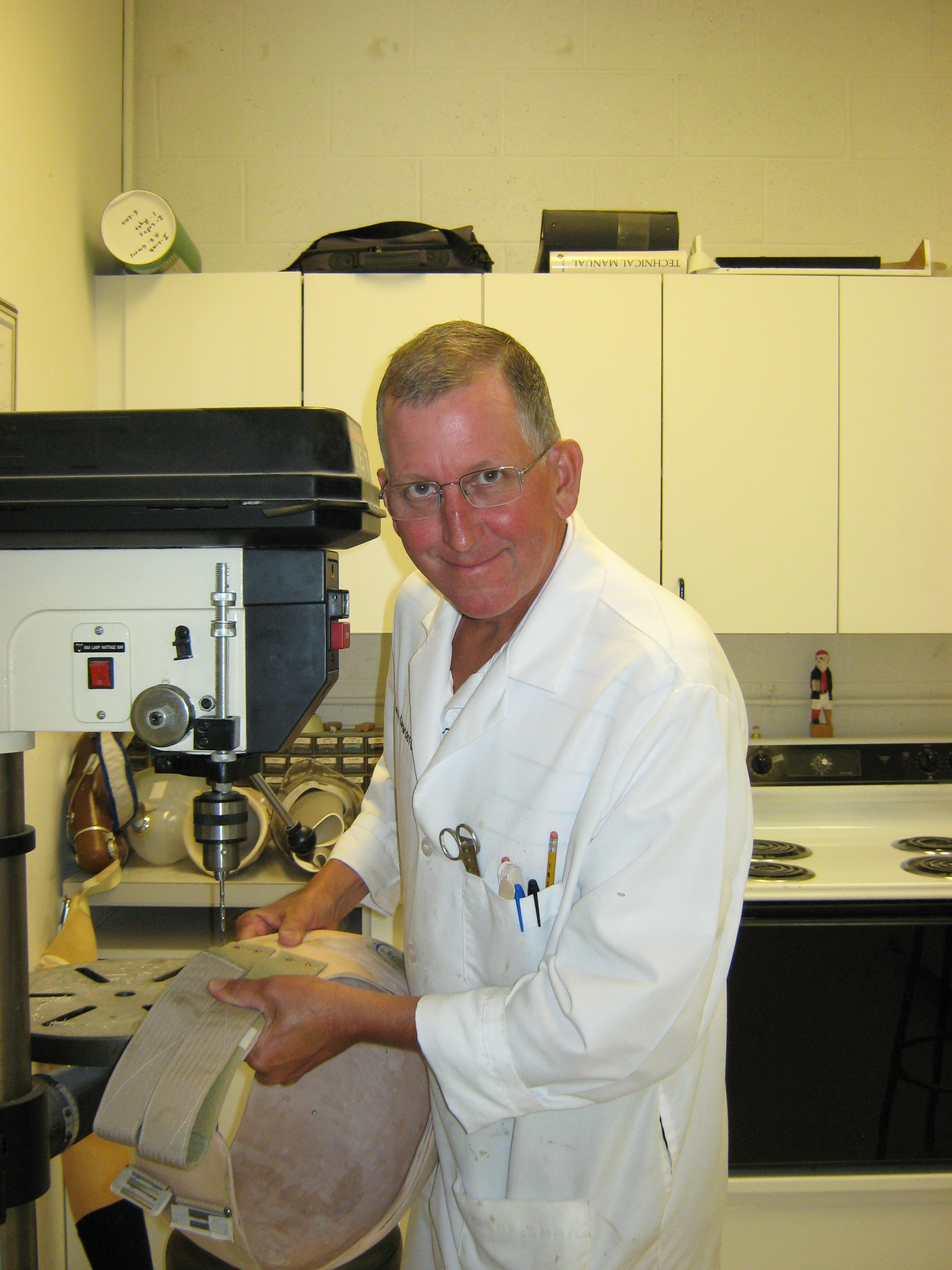 Keith Girardot, CP -   President  40 years in Prosthetics  Specializing in Upper and Lower Extremity Prosthetics