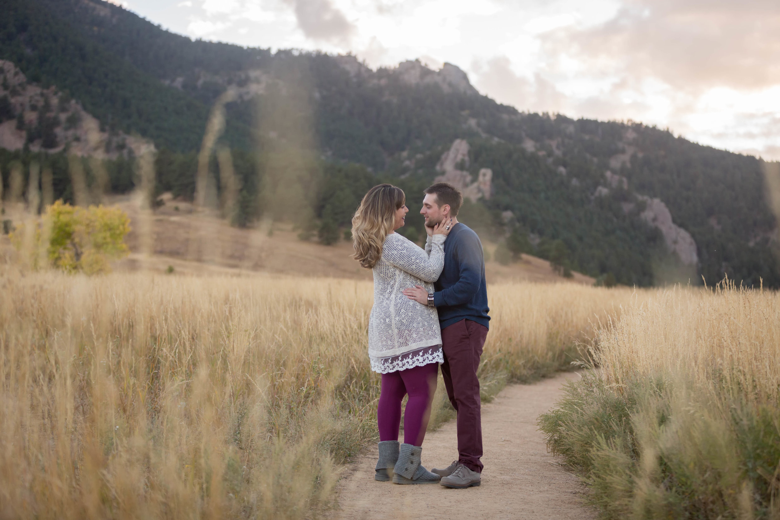 Karissa & TJ Boulder Colorado Engagement Session