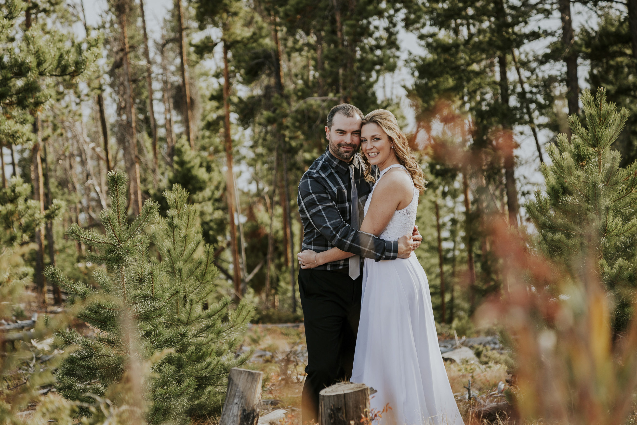 Megan + Jordan Colorado Mountain Wedding