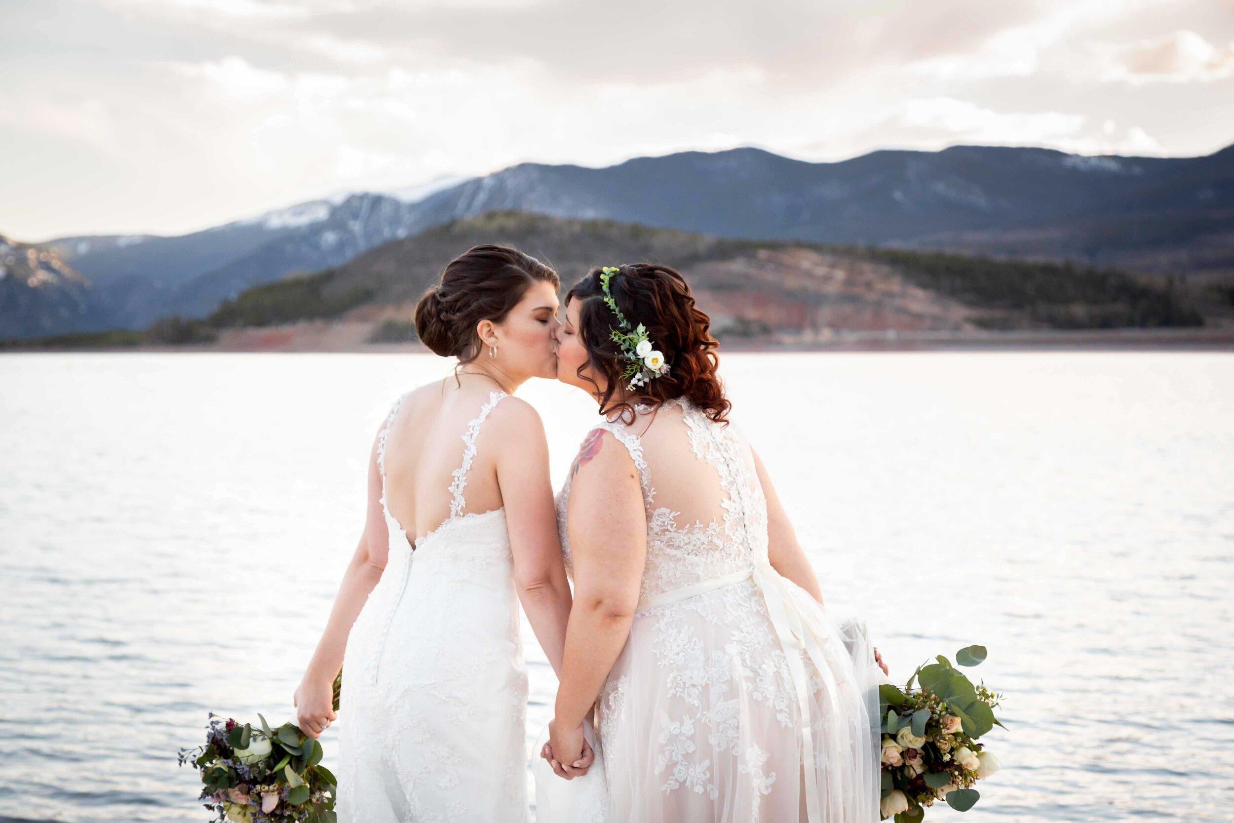 A Colorado Mountain Destination Wedding for Julia and Cheryl
