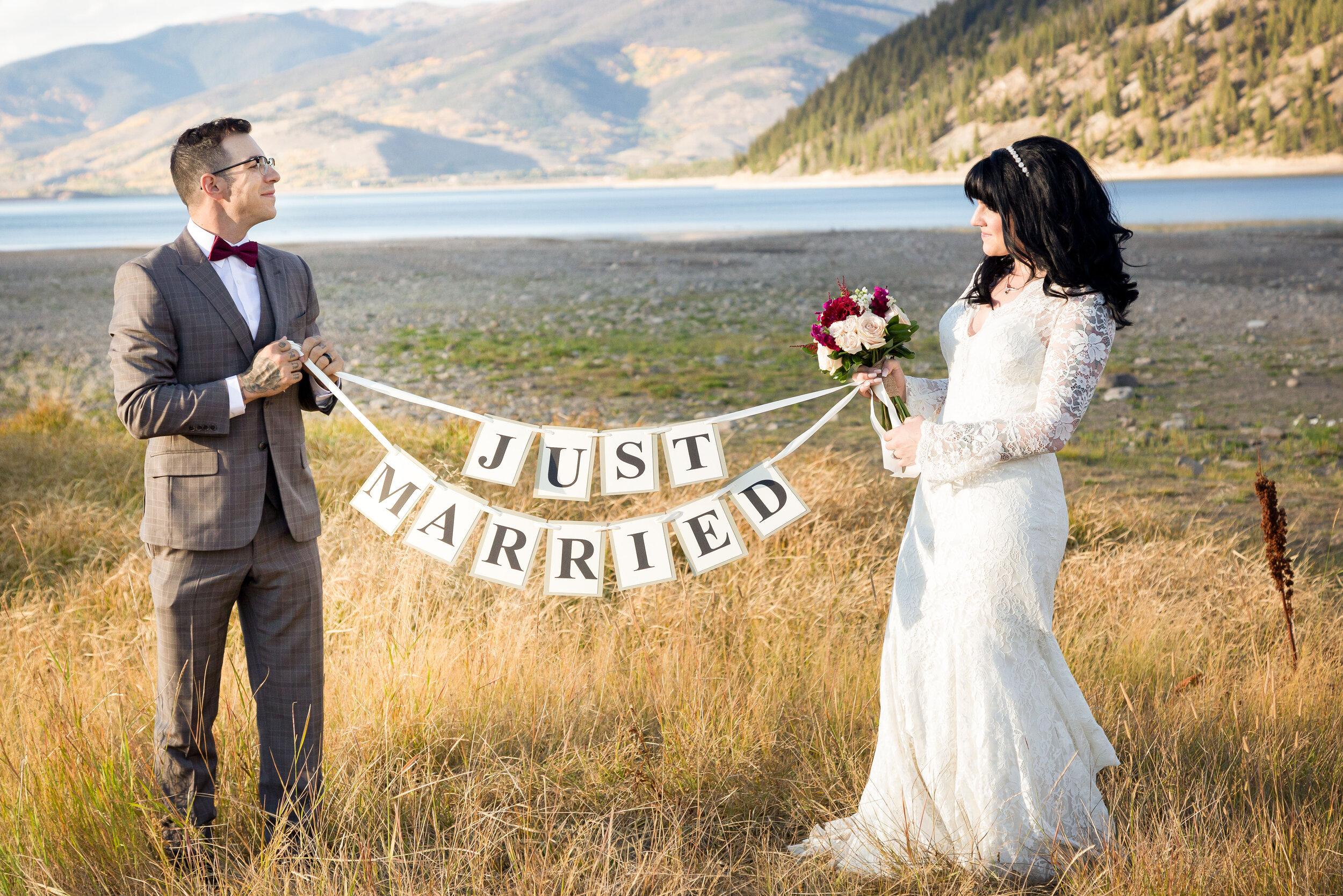 Kerry and Eric's Breckenridge Destination Wedding