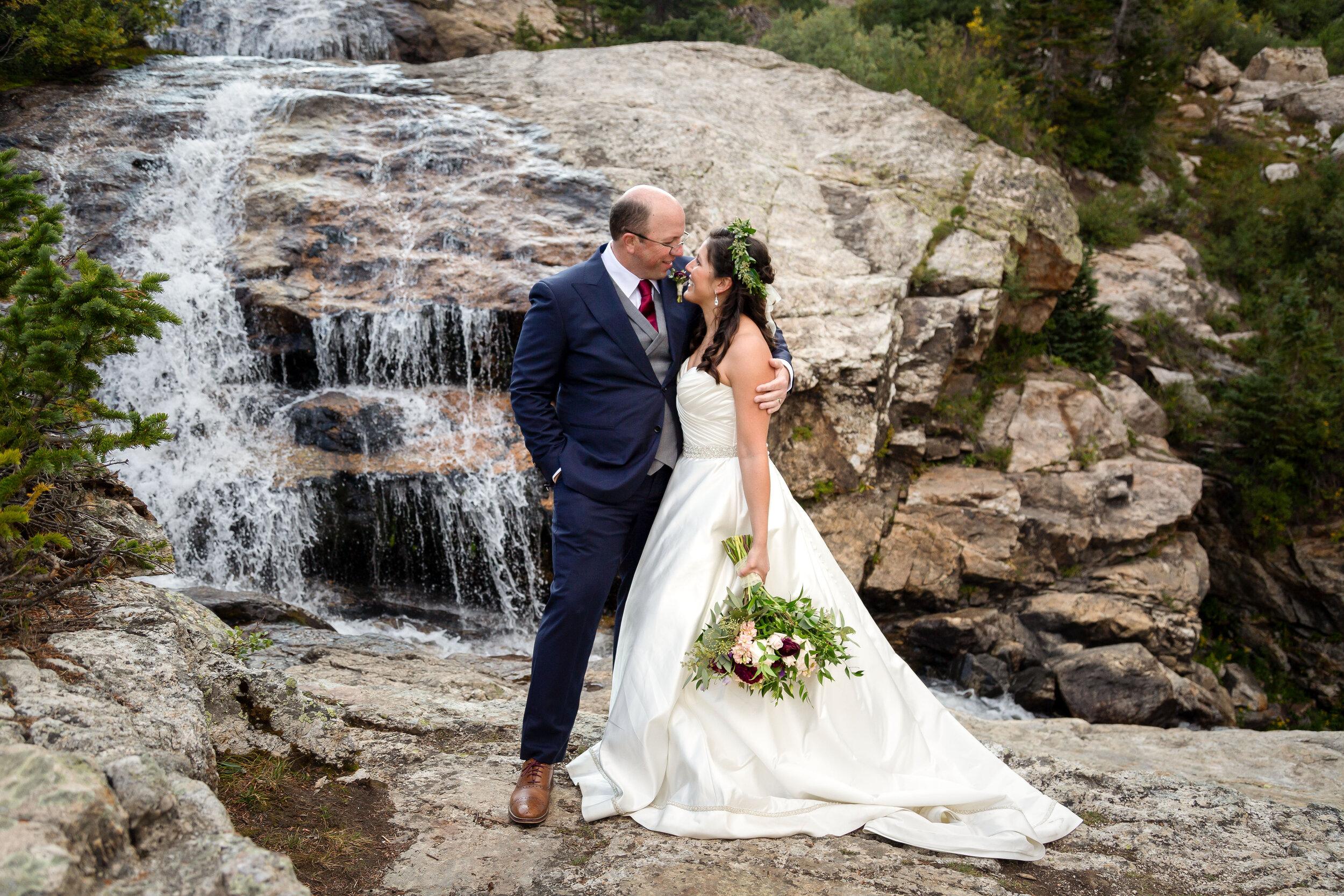 A Colorado Rocky Mountain Destination Wedding for Chris and Monica