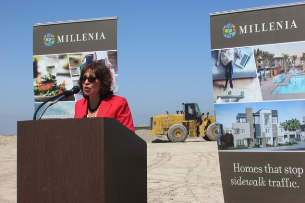 """Jim Schmid, you really build communities for families to thrive."" ~Mayor Mary Salas"