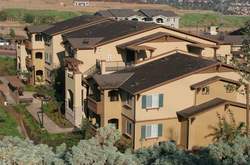 The 168 unit  Hunter's Pointe  project was developed to satisfy the affordable housing requirement of the La Costa Master Planned Community in Carlsbad, California.