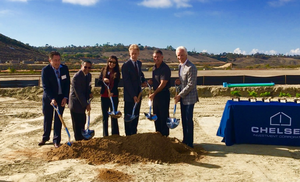 """This project is very important, and the city of Carlsbad has done a good job seeing to it that affordable housing gets built in their projects."" ~ Walter Heiberg"