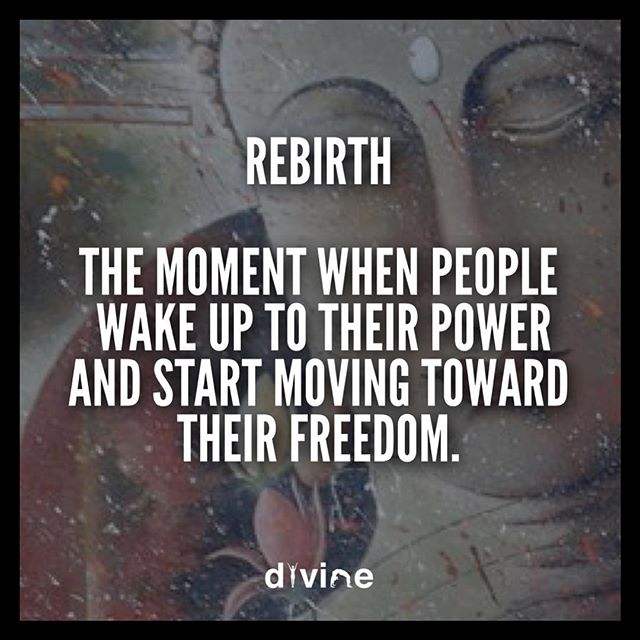 Rebirth ⚛️ #TheDivineMovement
