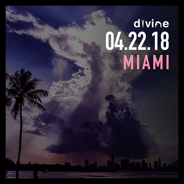 Miami, we're coming back! 04.22.18 @icebarmiami • swipe for more details! Tickets onsale soon ⚛️ #YogaInMiami #YogaInMIA #Numerology #TheDivineMovement