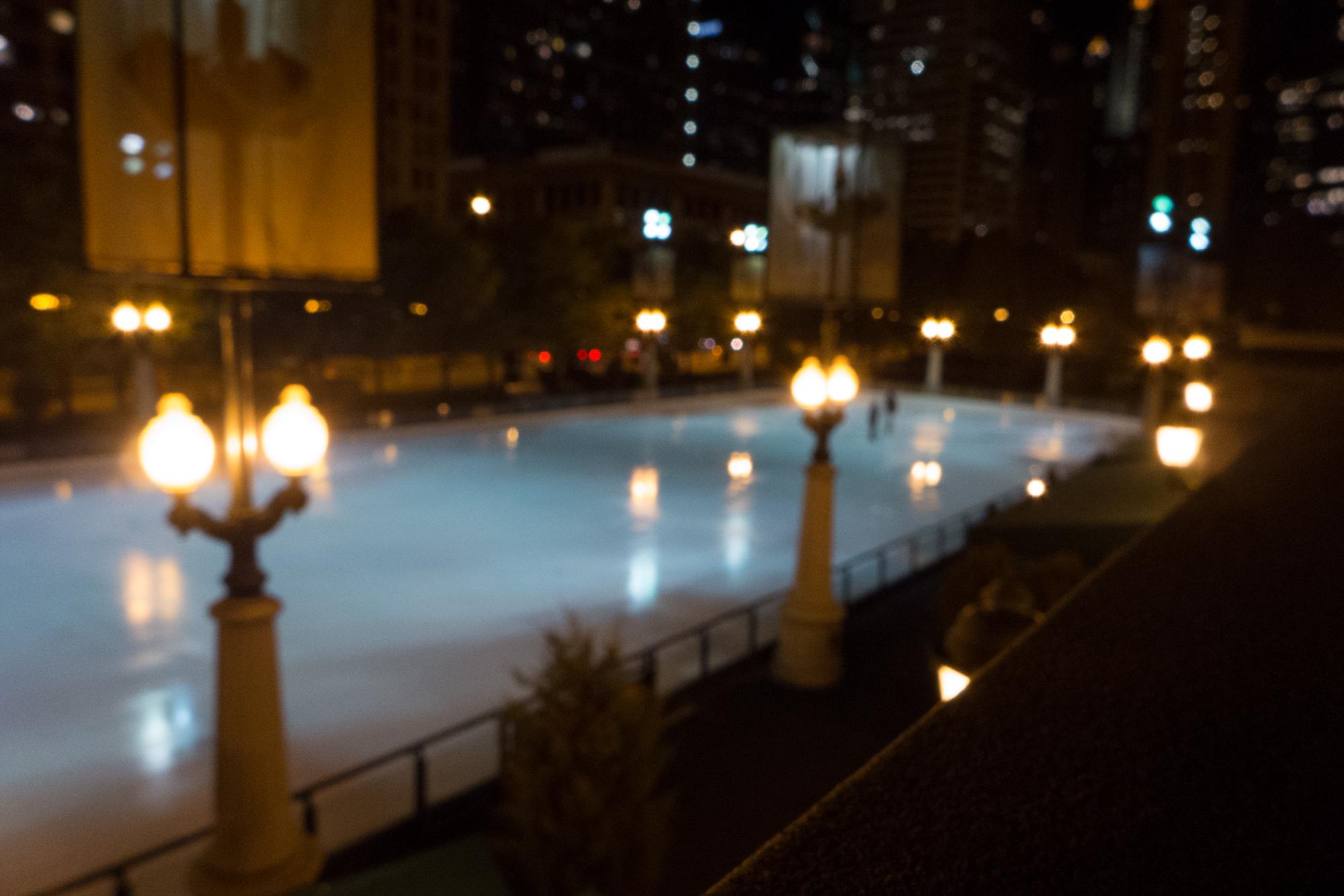 Night rink