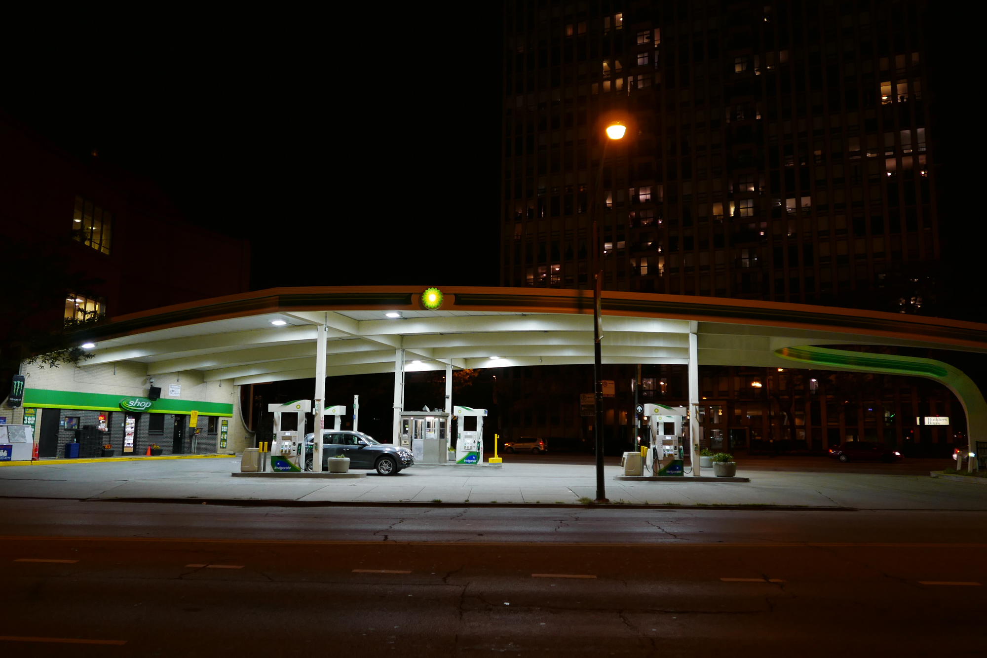 Lincoln Park gas station