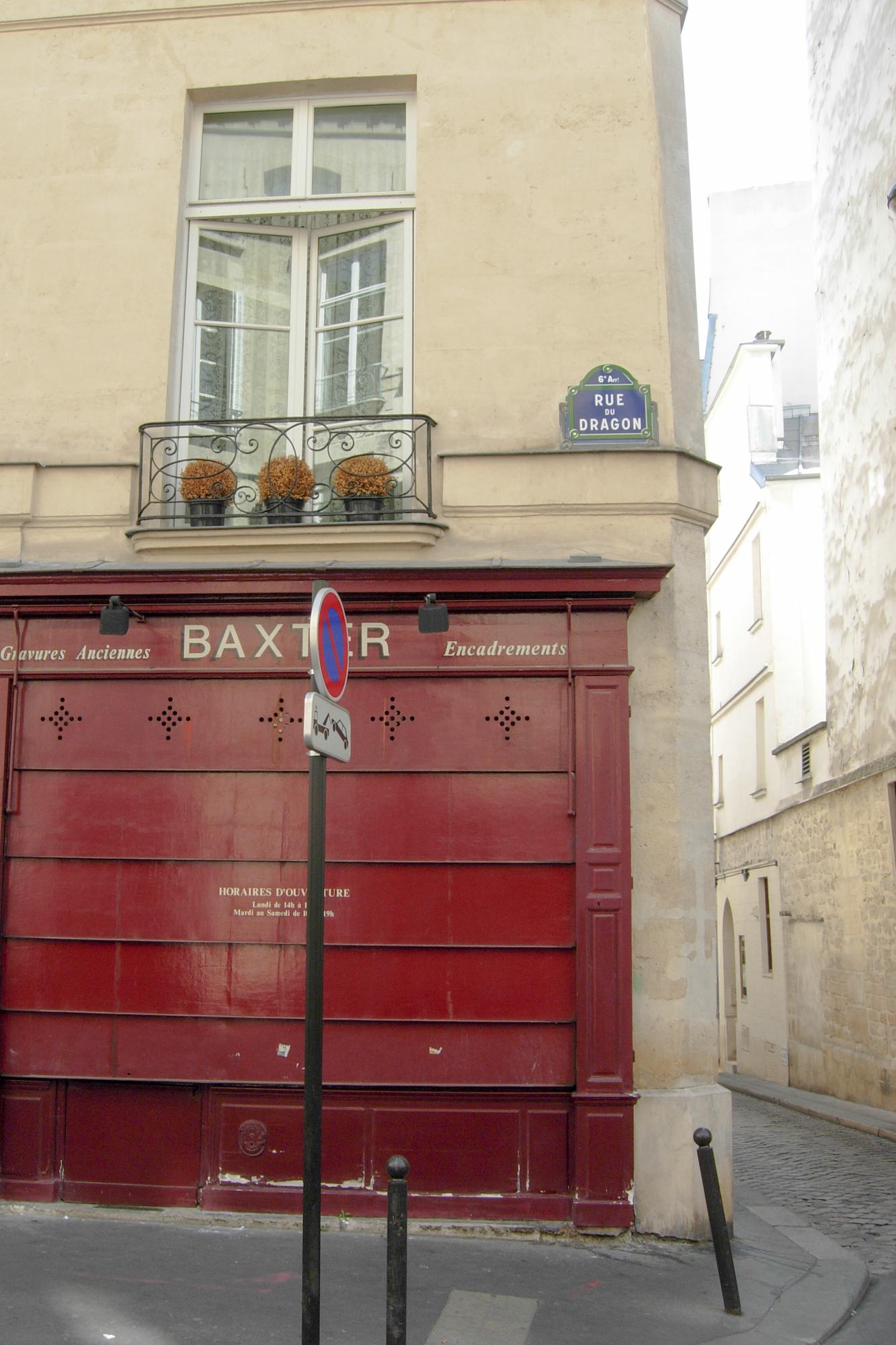 Rue de Dragon & Rue Bernard Palissy