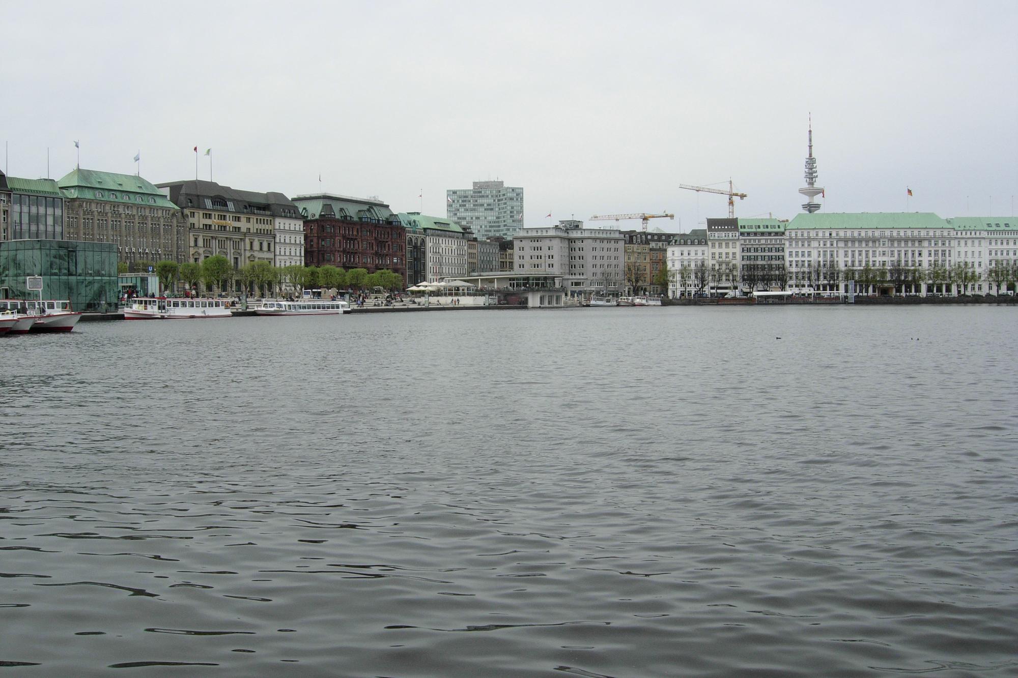Binnealster lakefront
