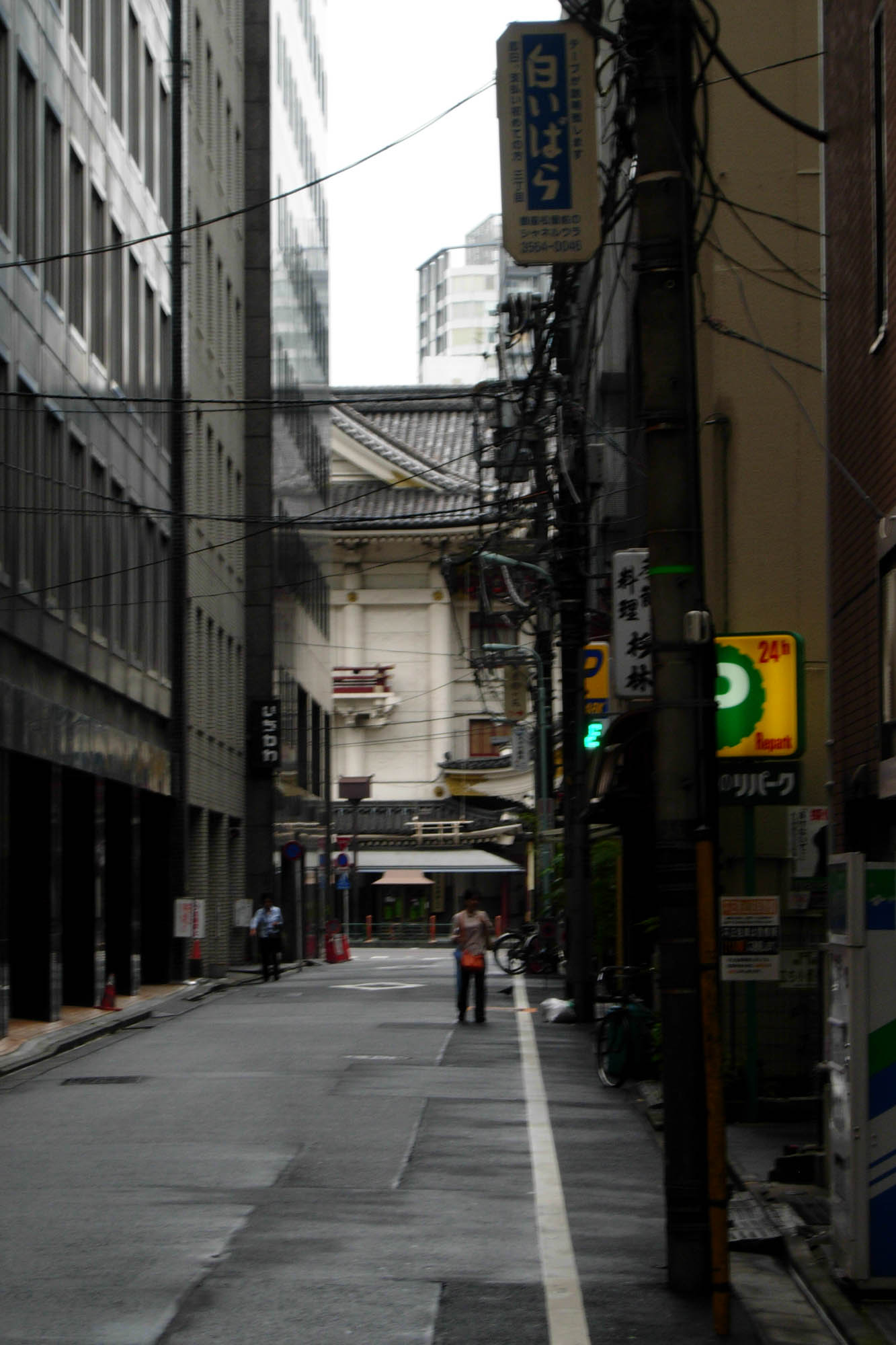 Ginza alley, early morning