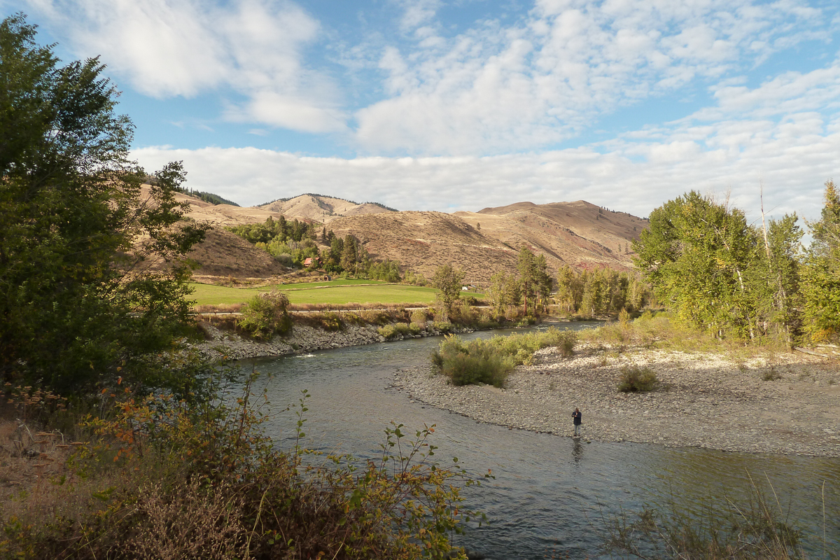 Methow River A tributary.