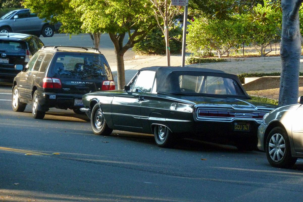 green Thunderbird, c. 1966