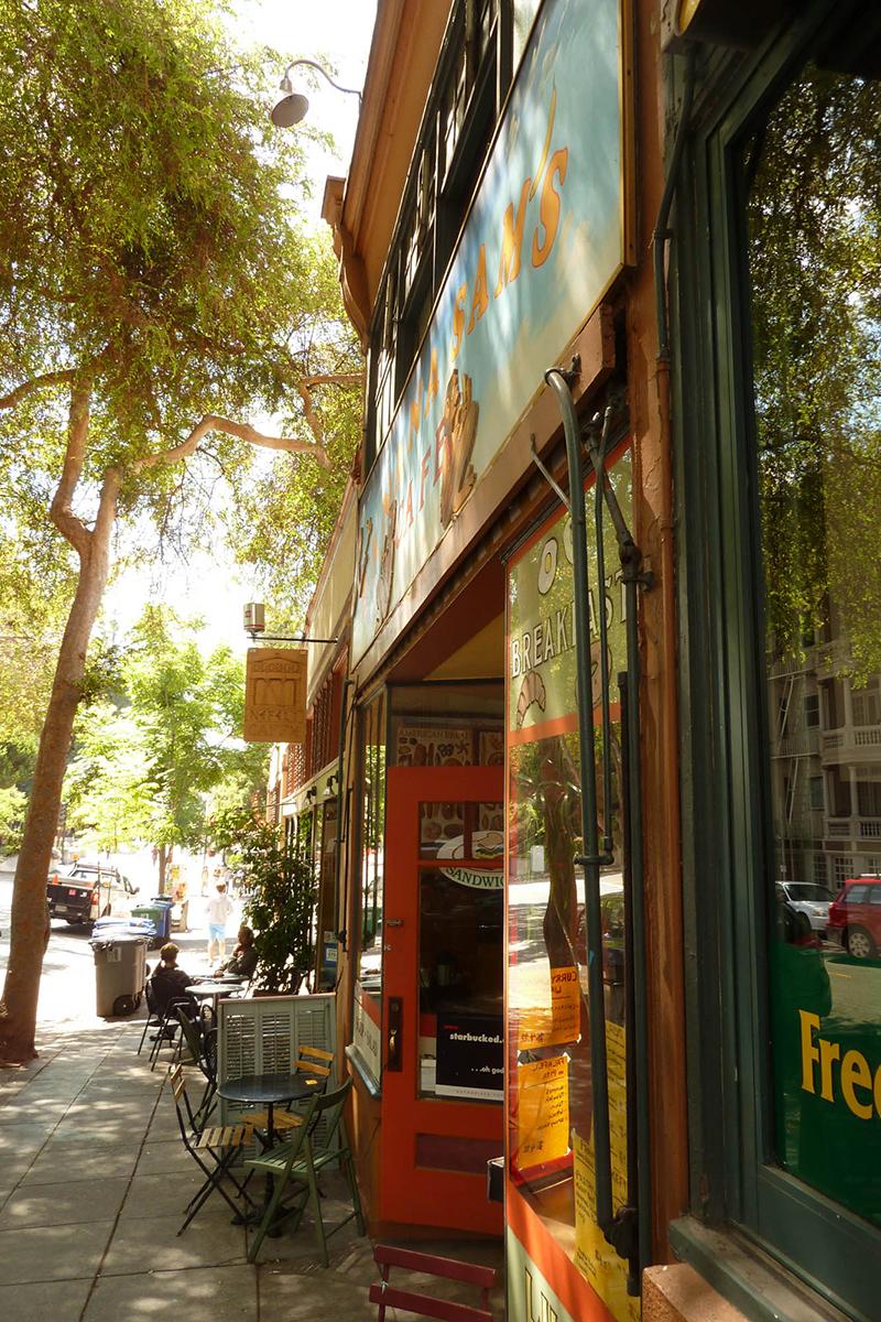 Euclid Avenue storefronts