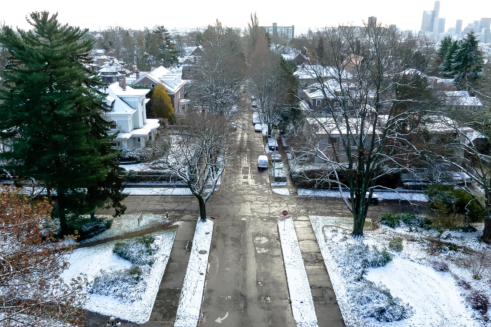 Capitol Hill snow