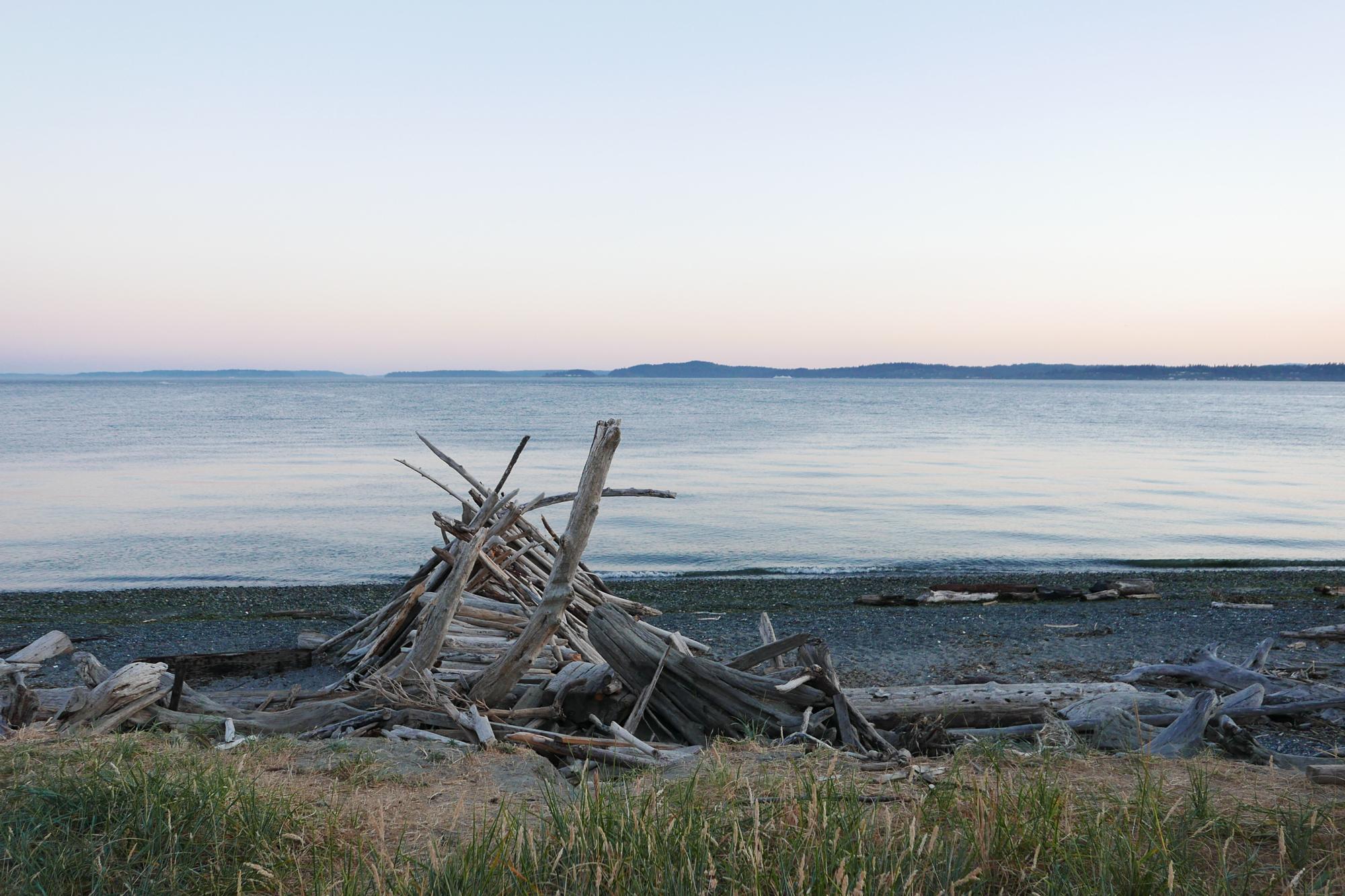 beach, Puget Sound