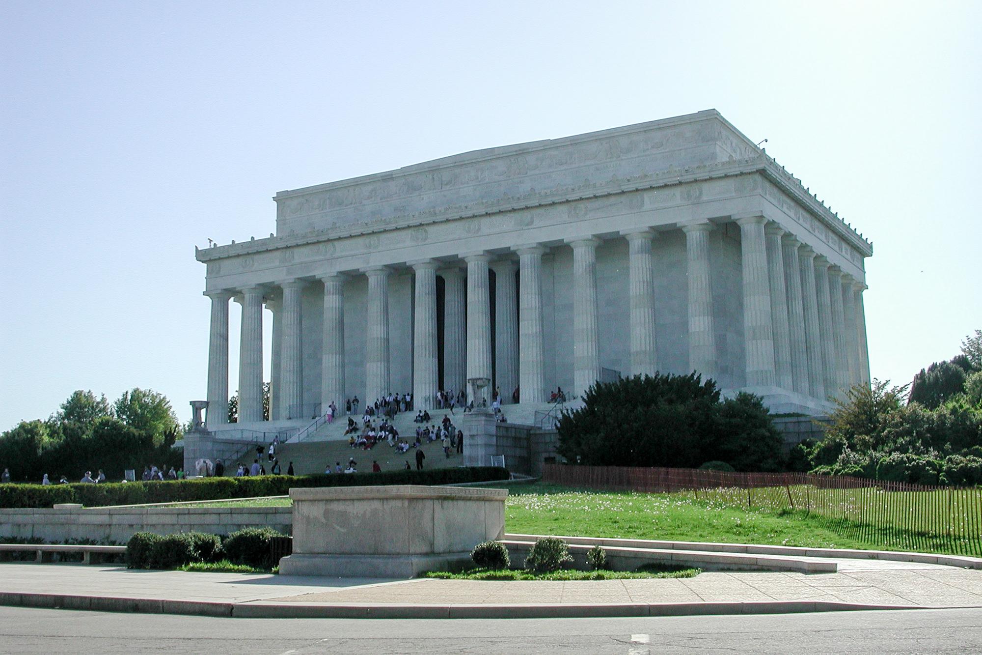 Visitors, Lincoln Memorial