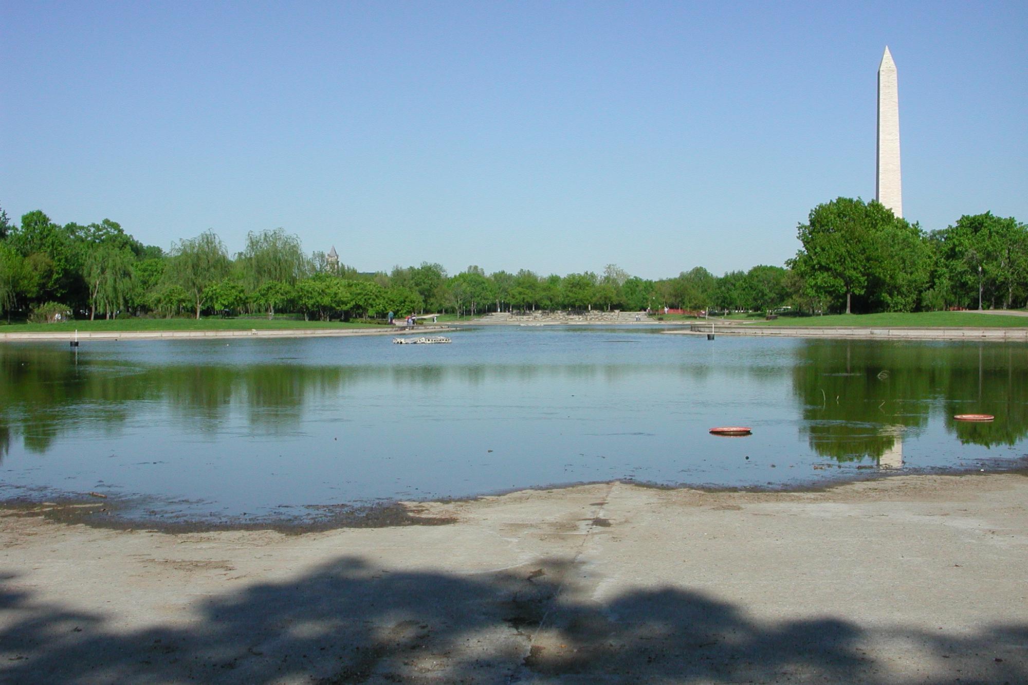 Constitution Garden Pond
